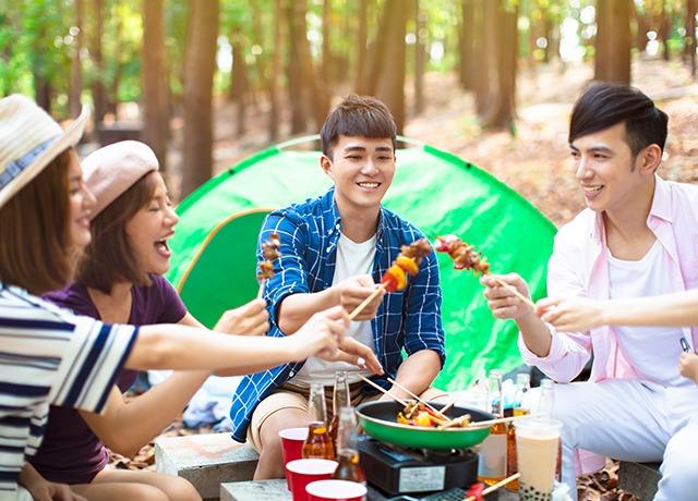 露營燒烤區